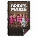 Bridesmaids Poster Throw Blanket