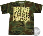 Bring Me the Horizon Camo T-Shirt