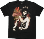 Bruce Lee Art Mastery Left T Shirt