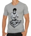Bruce Lee DJ Gray Adult T-Shirt