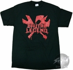 Brutal Legend Drip T-Shirt