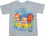 Bubble Guppies Swim It Toddler T Shirt