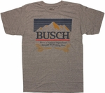 Busch Vintage Label T Shirt Sheer