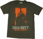 Call of Duty Black Ops 2 Crouch T Shirt Sheer