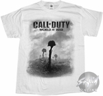 Call Of Duty Helmet Gun T-Shirt