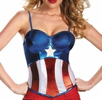 Captain America American Dream Costume Bustier