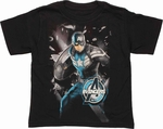 Captain America Avengers Initiative Juvenile T Shirt
