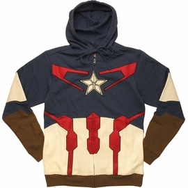 Captain America Avengers Suit Up Hoodie