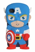 Captain America Chara-Cover Phone Case