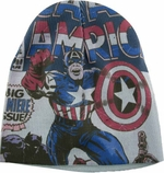 Captain America Comic Beanie