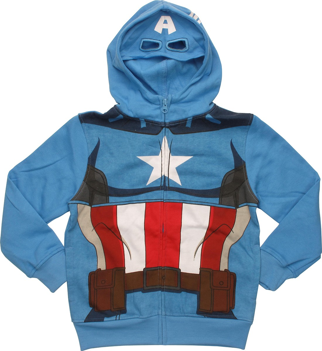 Captain america hoodie with mask