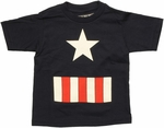 Captain America Costume Toddler T Shirt