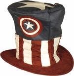 Captain America Floppy Top Hat