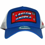 Captain America Framed Logo Mesh Hat