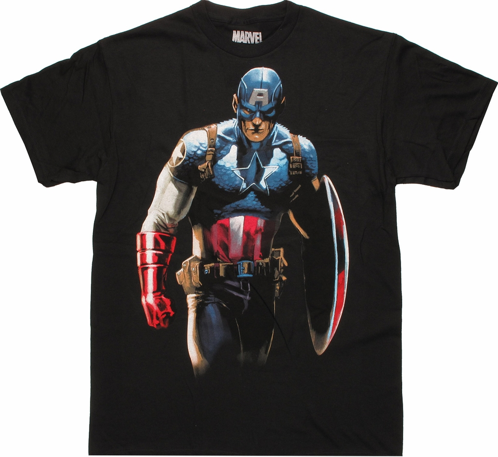 Captain America Glare T Shirt