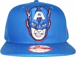 Captain America Head Hat