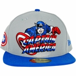 Captain America Hero Logo 59FIFTY Hat