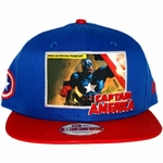 Captain America Intro Panel Hat