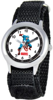 Captain America Kids Time Teacher Black Watch