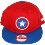 Captain America Logo 9Fifty Hat