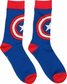 Captain America Logo Crew Socks