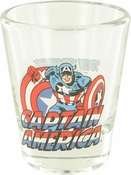 Captain America Mini Toon Tumbler Shot Glass