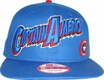 Captain America Name Hat