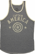 Captain America Name Logo Tank Top