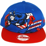 Captain America Portrait Hat