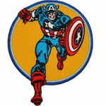 Captain America Run Patch