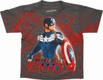 Captain America SHIELD Agent Juvenile T Shirt