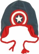 Captain America Shield Lapland Beanie