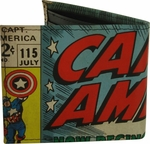 Captain America Title Bi-Fold Wallet