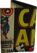 Captain America Title Tri-Fold Wallet