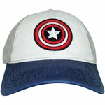 Captain America Tri Color Hat