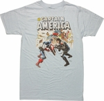 Captain America vs Bucky T Shirt Sheer
