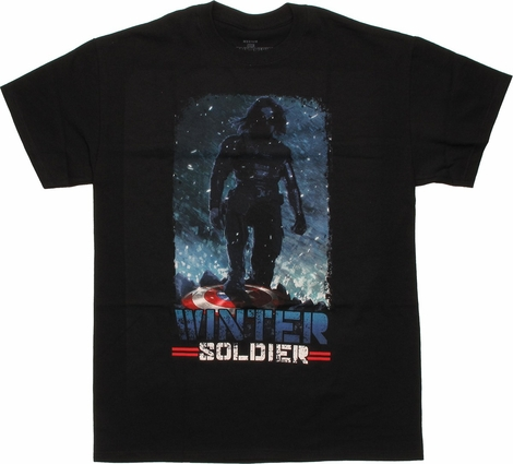Captain America Winter Soldier Conquering T Shirt