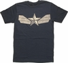 Captain America Winter Soldier Suit T Shirt Sheer