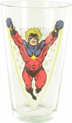 Captain Marvel Pint Glass