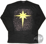 Captain Marvel Symbol Long Sleeve T-Shirt