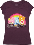 Care Bears Rainbow Trio Baby Tee