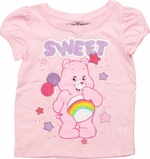 Care Bears Sweet Puff Sleeve Toddler T Shirt