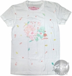 Care Bears Sweets White Baby Tee