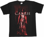 Carrie Dripping Blood T Shirt