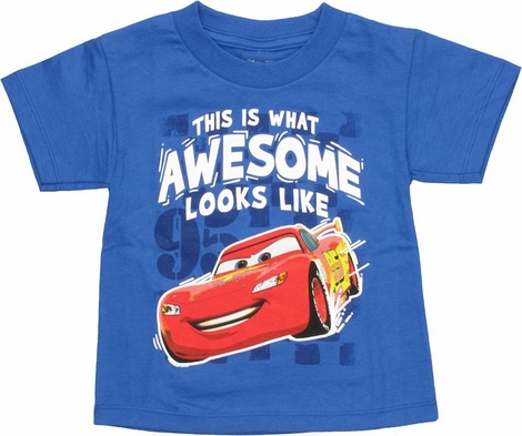 Cars Awesome Toddler T Shirt