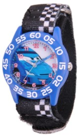 Cars Kids Plastic Black Watch