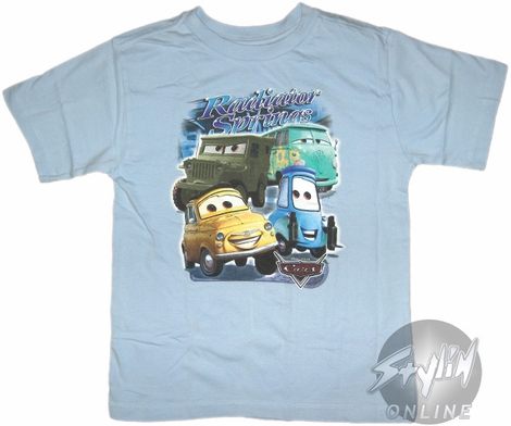 Cars Radiator Springs Youth T-Shirt