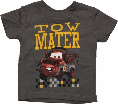 Cars Tow Mater Over Pixel Infant T Shirt