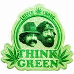 Cheech and Chong Think Green Patch