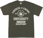 Cheech and Chong University T Shirt